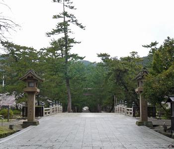 出雲大社 祓い橋