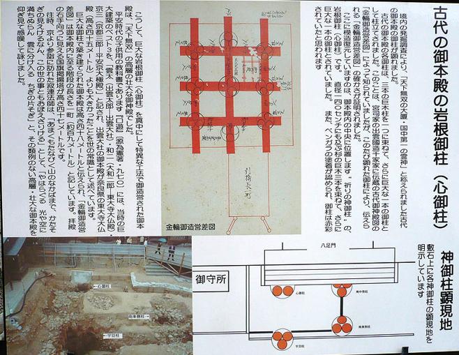 宇豆柱の発見と古代出雲大社の本殿について