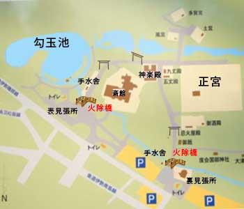 外宮境内図