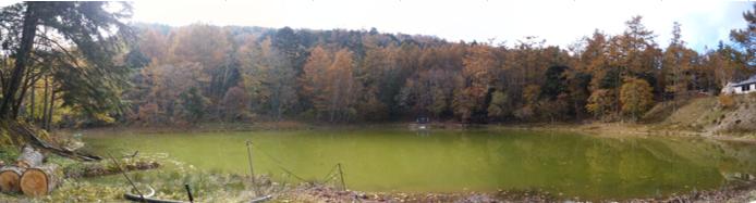 七面山 一之池