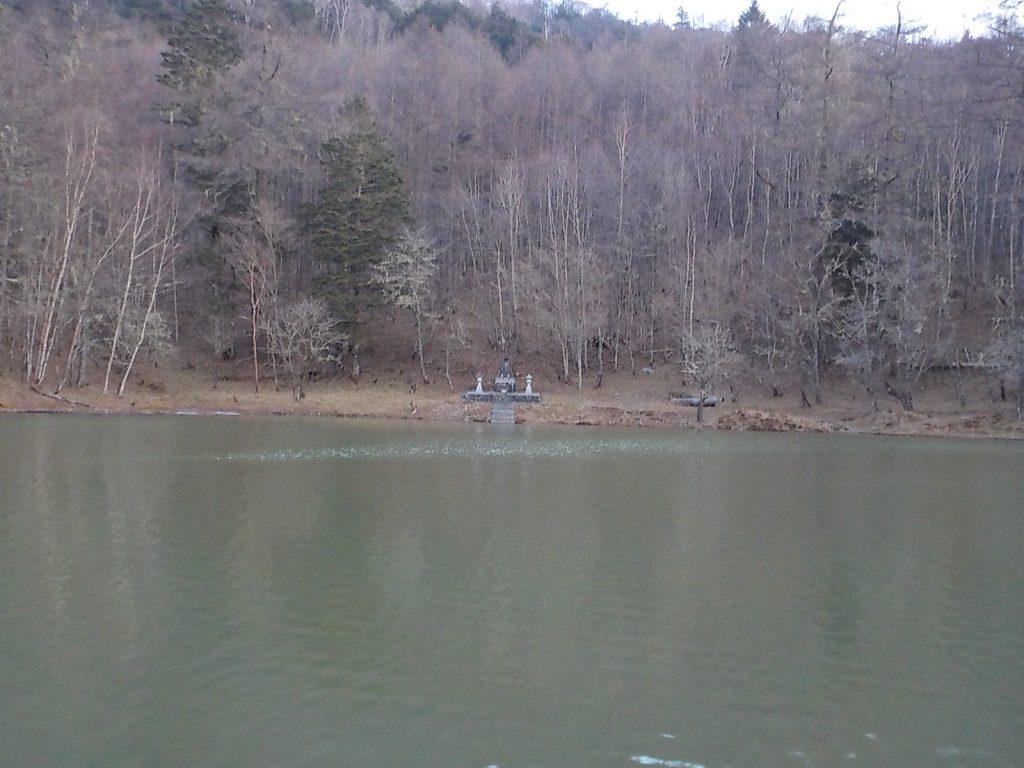 七面山 一の池