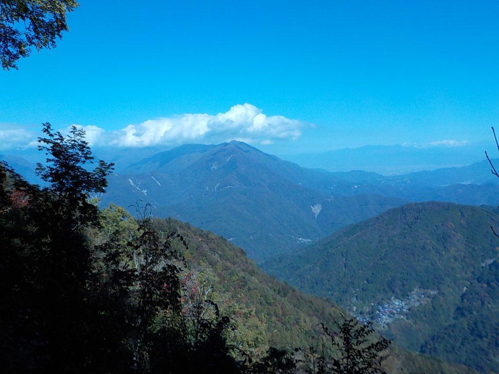 七面山からの眺め
