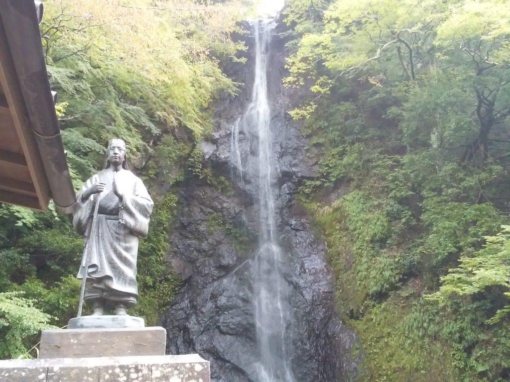 白糸の滝とお萬の方